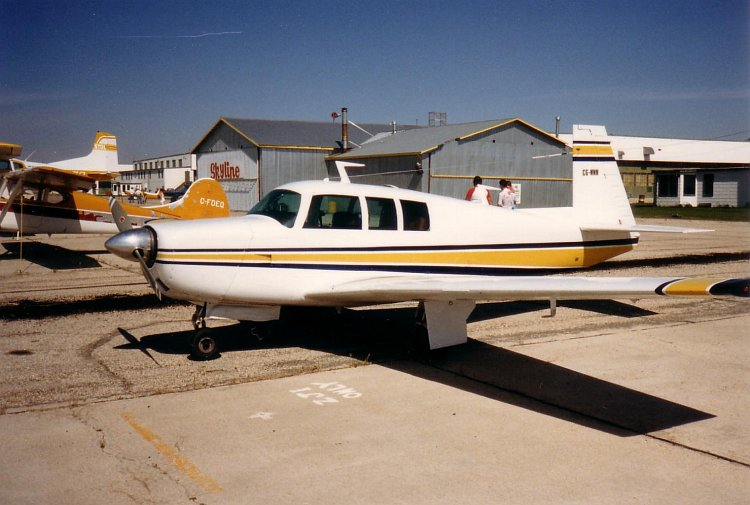 MOONEY M20F EXECUTIVE 21 PRE-'74